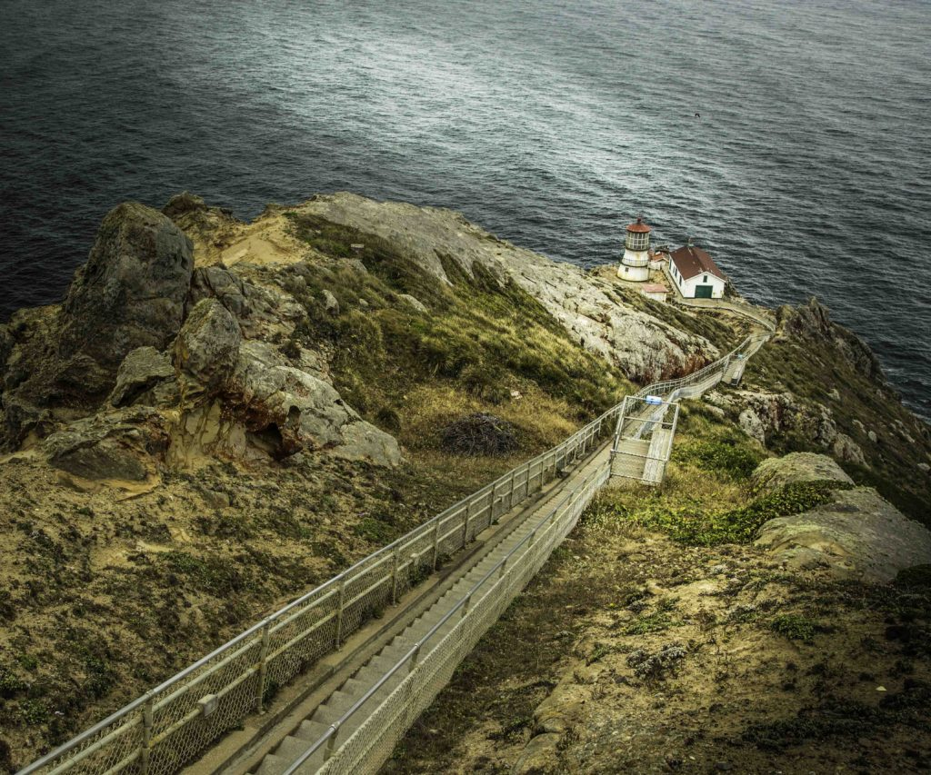 Point Reyes Lighthouse, Point Reyes National Seashore, San Francisco Bay Area, Marin County, Northern California, California