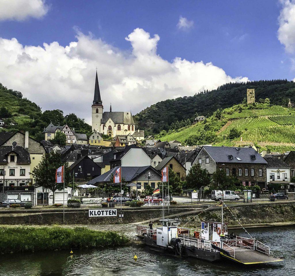 Klotten on the Mosel river, AmaPrima, AmaWaterways cruise, Germany