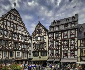Market Square Bernkastel-Kues, AmaPrima, AmaWaterways cruise, Mosel river, Germany