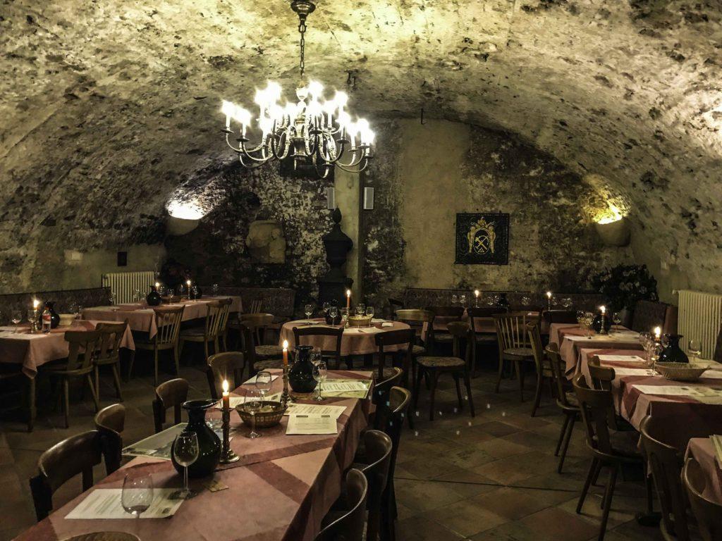 Dr. Pauly Bergweiler wine cellar tasting room, Bernkastel-Kues, Mosel river, AmaPrima, AmaWaterways cruise, Germany