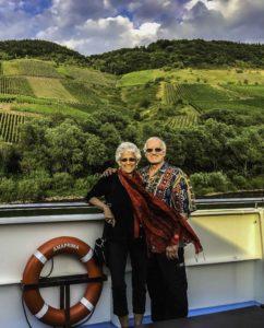 Carol Canter and Jack Heyman, AmaPrima, AmaWaterways, Mosel river, Germany