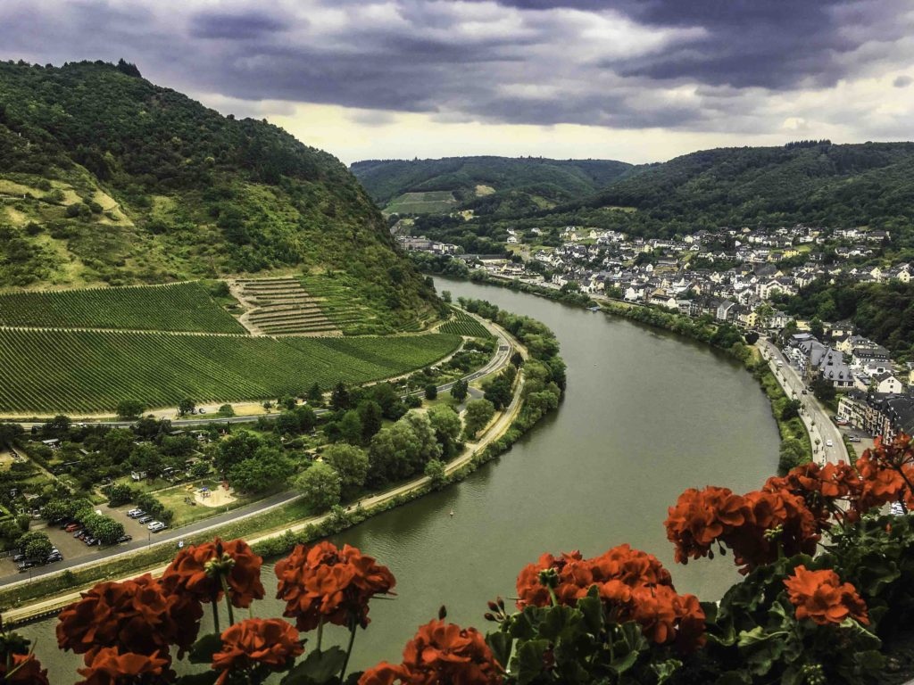 Cochem in the Moselle river valley, AmaPrima, AmaWaterways cruise, Germany