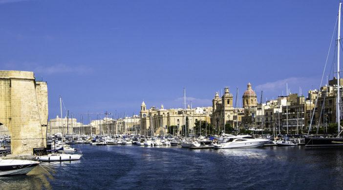Marina of the Three Cities, Valletta, Malta