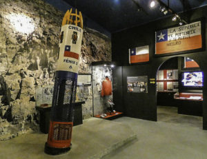 Museo Colchagua: Fénix 2, one of the capsules that was used to rescue the miners in 2010, Colchagua Valley, Chile
