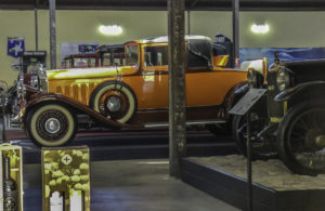 Museo del Automóvil at Viña Santa Cruz, Colchagua Valley, Chile