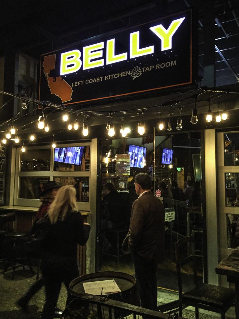 Belly's Left Coast restaurant, Santa Rosa, California