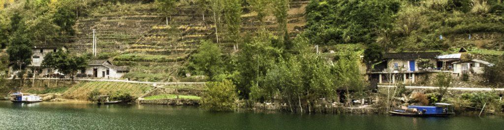 Life on the Yangtze river, Chongqing, China, Three Gorges Cruise