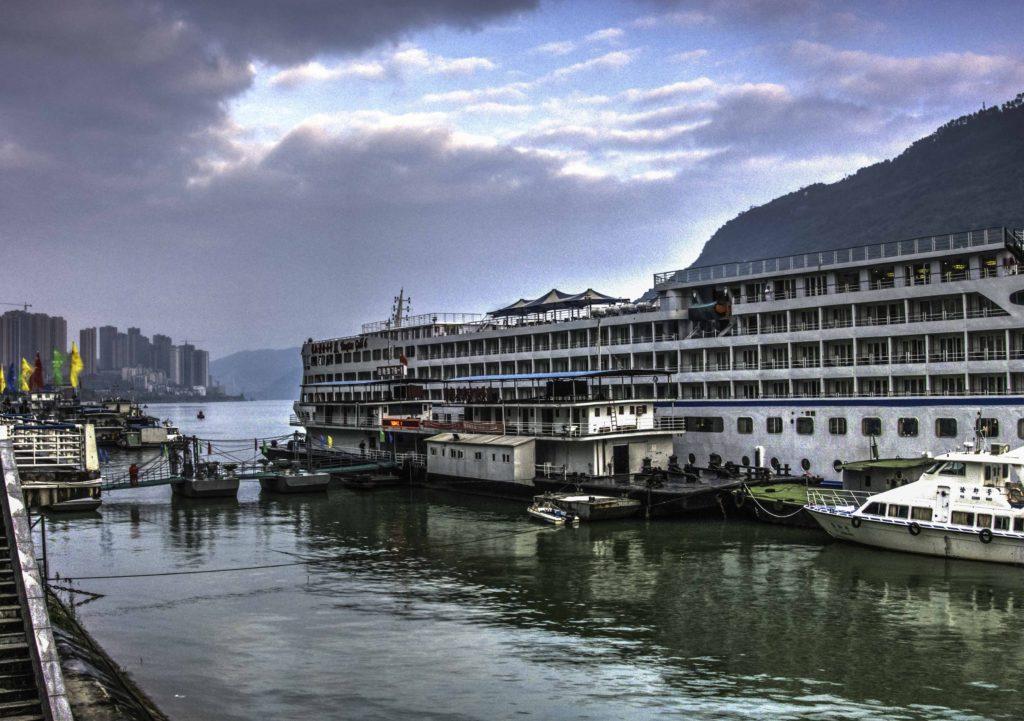 Yangtze Gold-6 in Fuling, China, Chongqing, Yangtze River Three Gorges Cruise