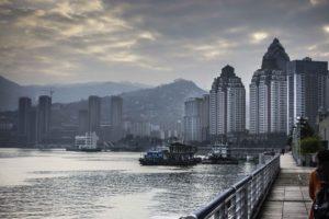 Fuling, China, Yangtze River Three Gorges Cruise