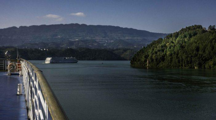 Three Gorges Cruise on the Yangtze River, Chongqing, China