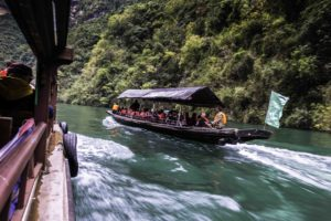 Three Small Gorges tour, Madu River, Yangtze River Three Gorges Cruise, Chongqing, China