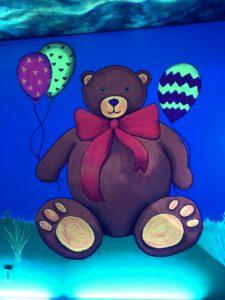 Teddy Bear Room, Selfieville, Golden State Theater, Monterey, California