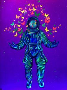 Astronaut Room, Selfieville, Golden State Theater, Monterey, California
