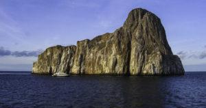 One of many Galapagos islets, Galapagos Islands, Ecuador