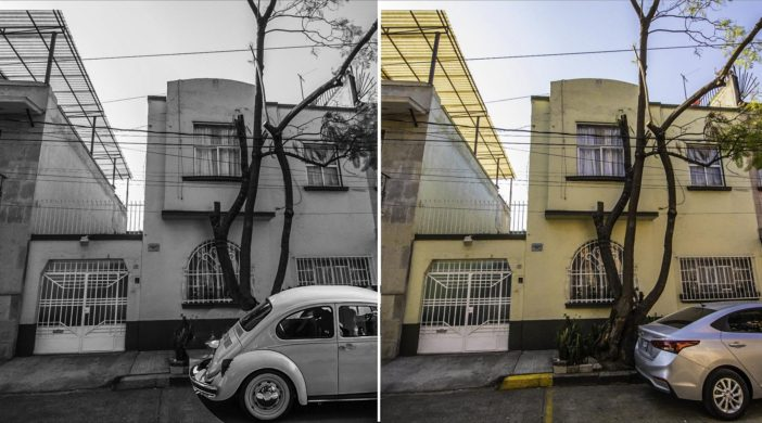 Mexico City in Roma film times and today,The family house that was used as the shooting location for the movie Roma, Roma Colonia, Mexico City, Mexico