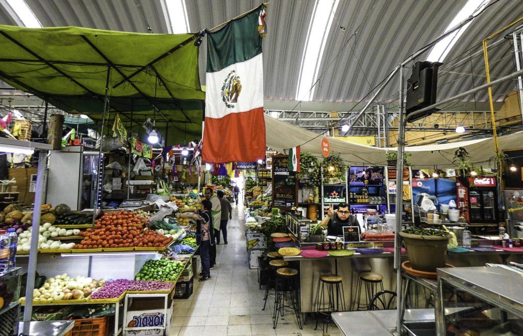 Mercado Medellín in Roma, Roma Colonia, Mexico City, Mexico
