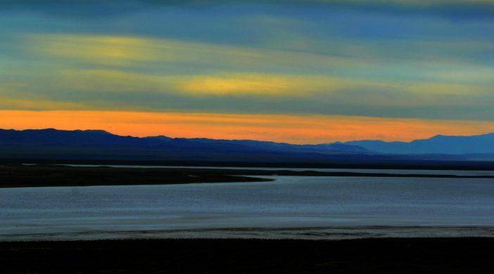 Awaiting sunrise from Soda Point, Carrizo Gold - Sunrise to Super Bloom, Carrizo Plain National Monument, California's Serengeti, California