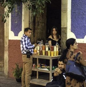 Juice lover's delight, Guanajuato, Mexico