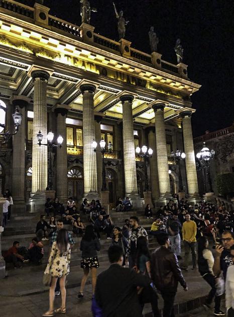 Teatro Juarez, Guanajato, Mexico
