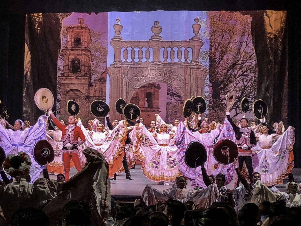 University of Guanajuato performance of Mexico's Baile Folklorico.