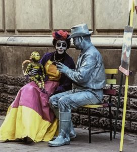 Street entertainment, Guanajuato, Mexico