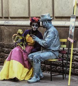 Street entertainment, Guanajuato, Mexico