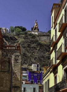 Pípila Monument lookout, Guanajuato, Mexico