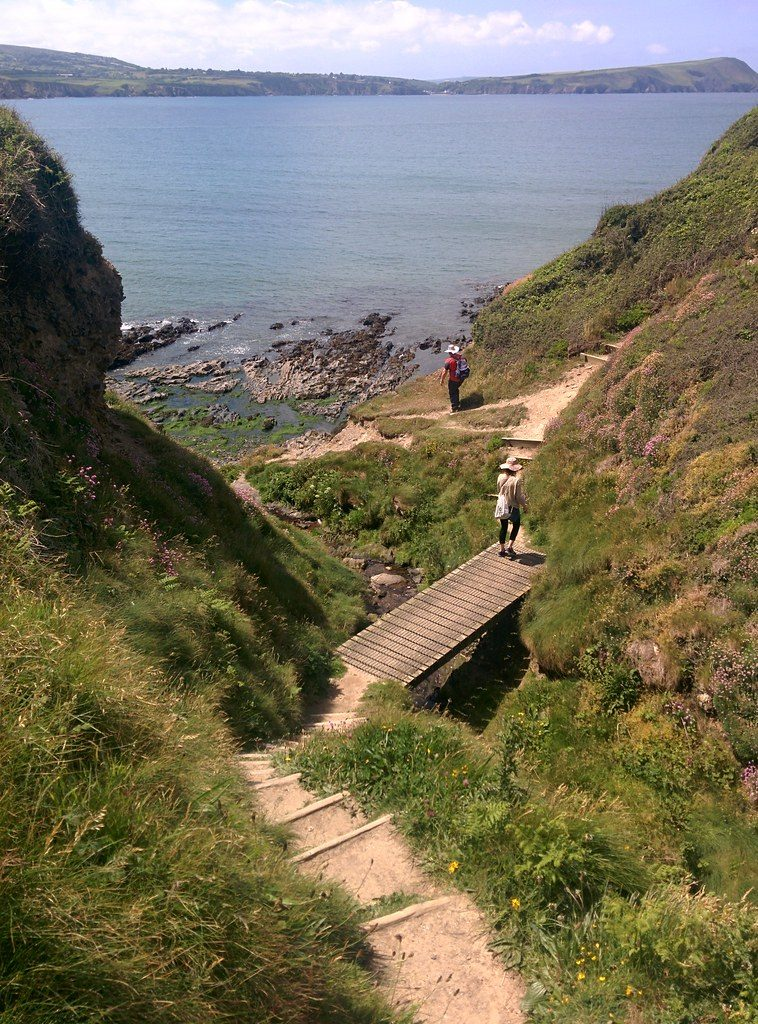 On the Pembrokeshire Coast Path, Wales, UK