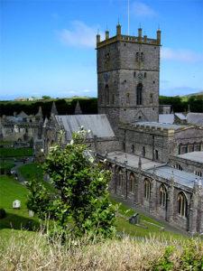 St Davids Cathedral, Wales, UK