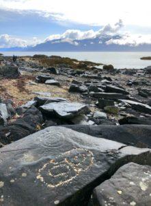 Stikine River, Petroglyph Beach State Park, Alaska