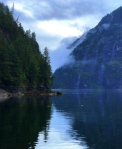 Early morning in Misty Fjords National Monument, Alaska