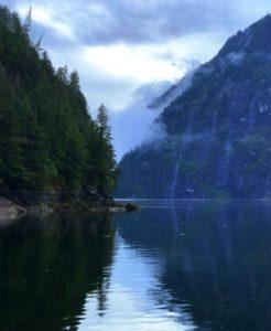 Early morning in Misty Fjords National Monument, Alaska