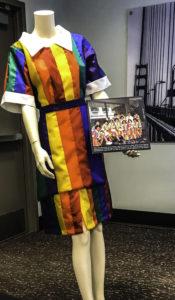Replicated Hilton rainbow uniform, Hilton Union Square, San Francisco, CA