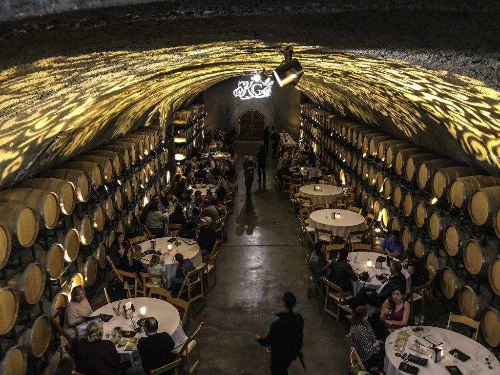 Gloria Ferrer wine cave, Tower Tours, San Francisco, CA
