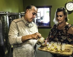 Figone's olive oil company, Sonoma, CA