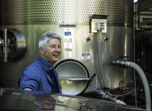 Winemaker Nico, Thomas George winery, Russian River, Sonoma Coast AVA, Guerenville, CA