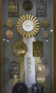 Moshin Vineyards awards, Russian River, Sonoma Coast AVA, Guerenville, CA