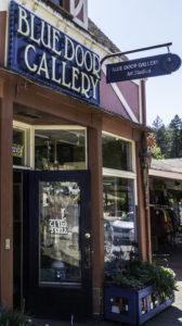 Blue Door Gallery, Guerenville, CA