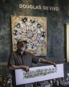 Douglas DeVivo collage, Guerenville, CA