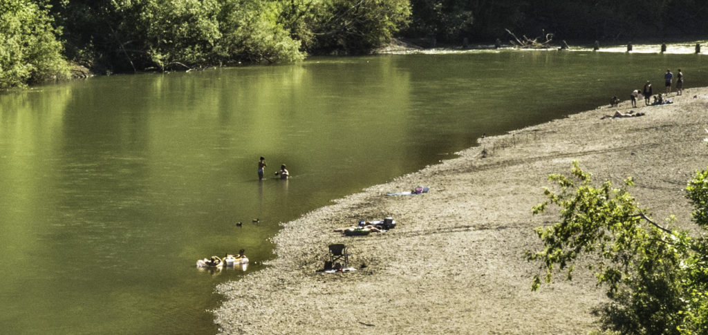 Russian River in Guerenville,CA