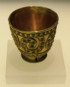 The deep civilization of Georgia: a 3,700- year-old goblet. Georgian National Museum, T'bilisi, Republic of Georgia.