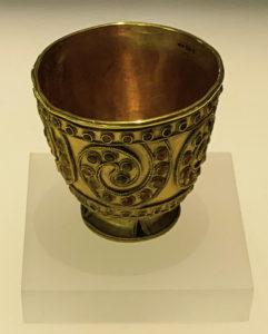 The deep civilization of Georgia: a 3,700- year-old goblet. Georgian National Museum, T'bilisi, Republic of Georgia.