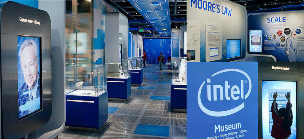 Inside the Intel Museum. Photo: Intel Corporation
