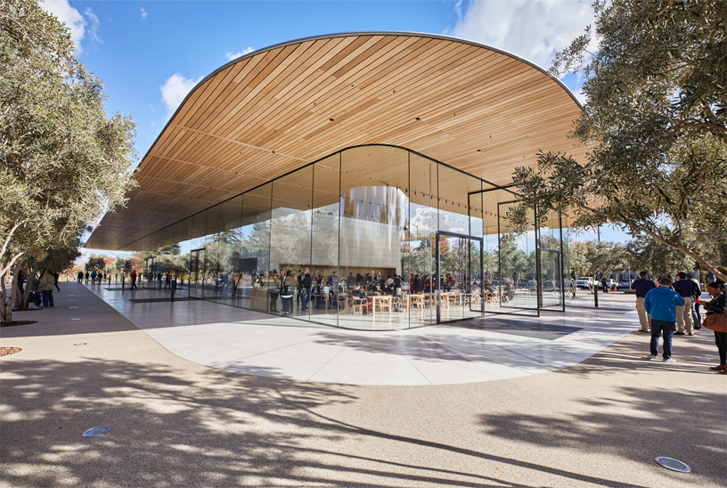 The Apple Park Visitor Center. Photo: Apple Inc.
