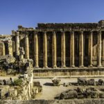 Temple of Bacchus in Baalbek, Lebanon