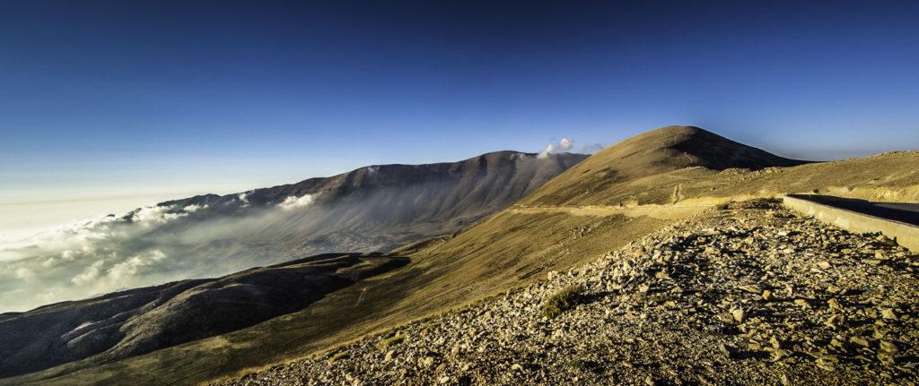 On top of the Mount Lebanon Range