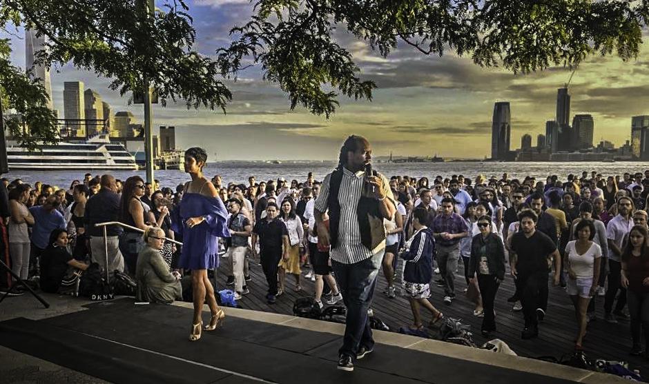 Salseros Class on the Hudson River, New York City
