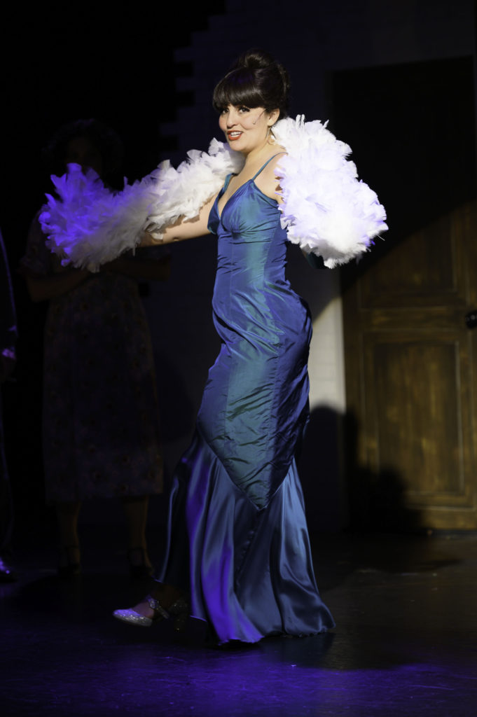"The flowering of Gypsy Rose in""Gypsy"" the play now at Alcazar Theater, San Francisco, California"