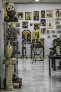 Artist's Cooperative in the Plaka, Athens, GreeceG