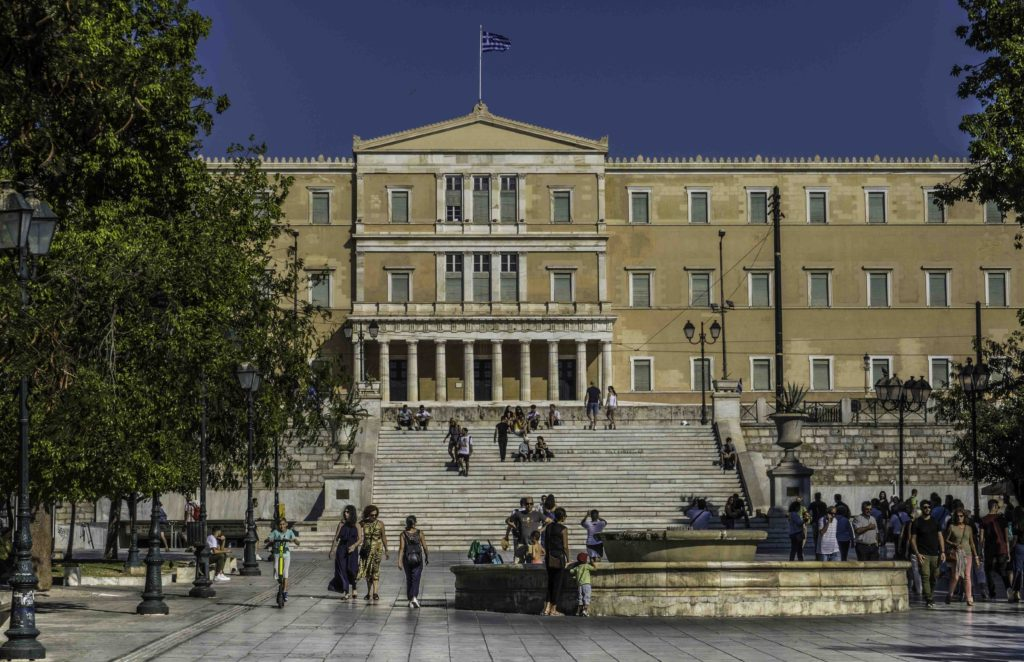 Syntagma Square, The Parliament Building, Athens, Greece